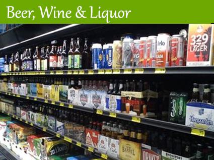 Beer, Wine & Liquor